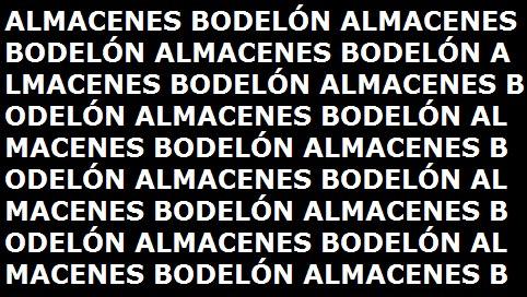 Almacenes Bodelón