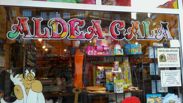 Kiosco Aldea Gala